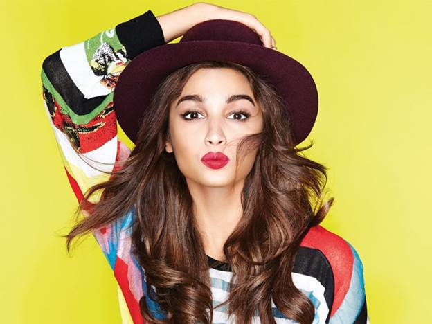 Alia Bhatt at no. 11