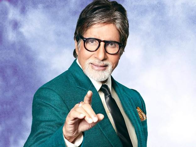 Amitabh Bachchan at no. 1