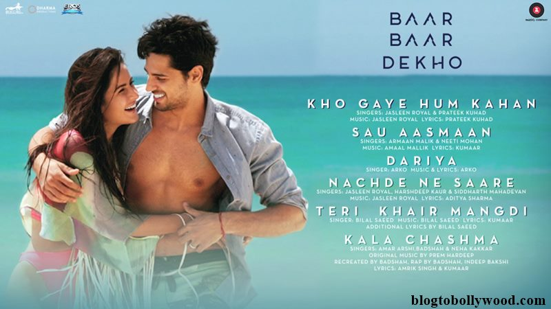 Baar Baar Dekho Music Review: Perfect Combo Of Happy, Sad and Crazy Songs!