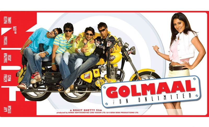 10 Most successful movie franchises of Bollywood- Golmaal