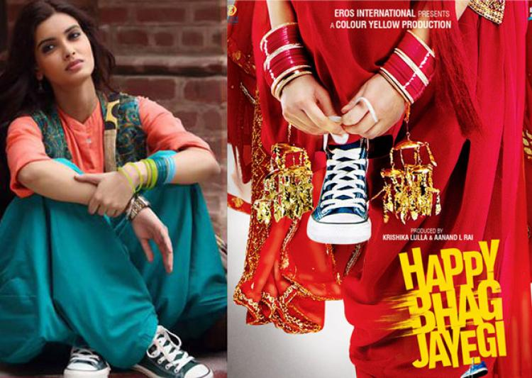 Happy Bhag Jayegi 1st Wednesday Collection: Giving Tough Fight To Rustom