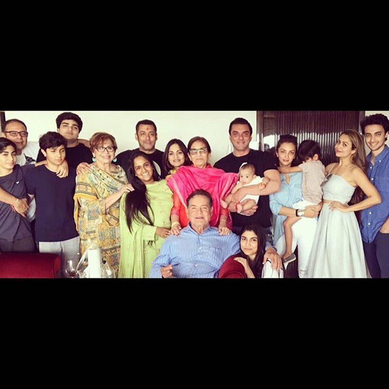 Pictures | Arpita Khan Sharma shared some great pics of the Khan's Rakhi celebration- Khan family