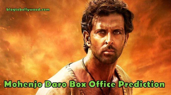 Mohenjo Daro Box Office Prediction