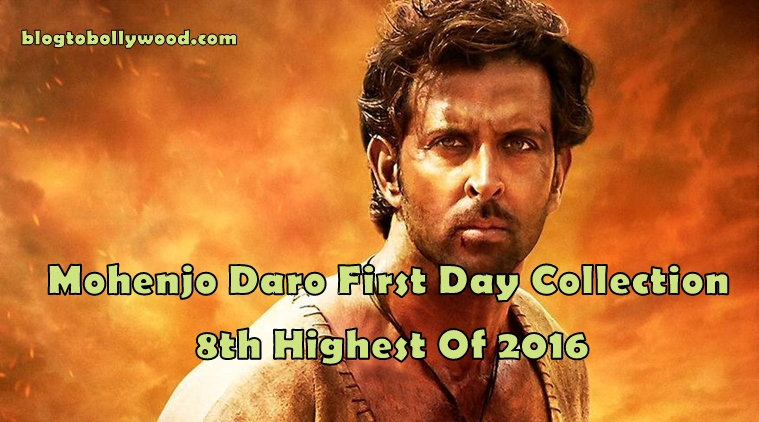 Official: Mohenjo Daro First Day Collection And Occupancy Report
