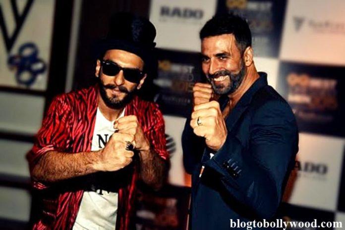 Ranveer Singh says Akshay Kumar is the most energetic actor & we say he is no less!