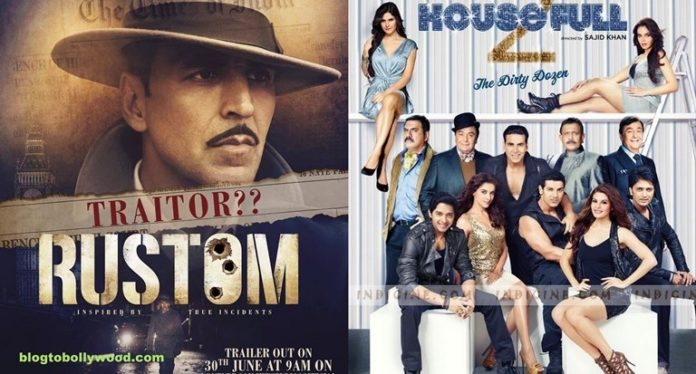Rustom Beats Housefull 2: Becomes Akshay Kumar's 3rd Highest Grosser