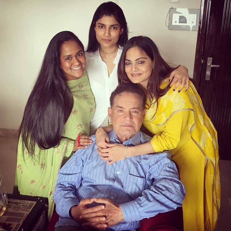 Pictures | Arpita Khan Sharma shared some great pics of the Khan's Rakhi celebration- Salim with daughters