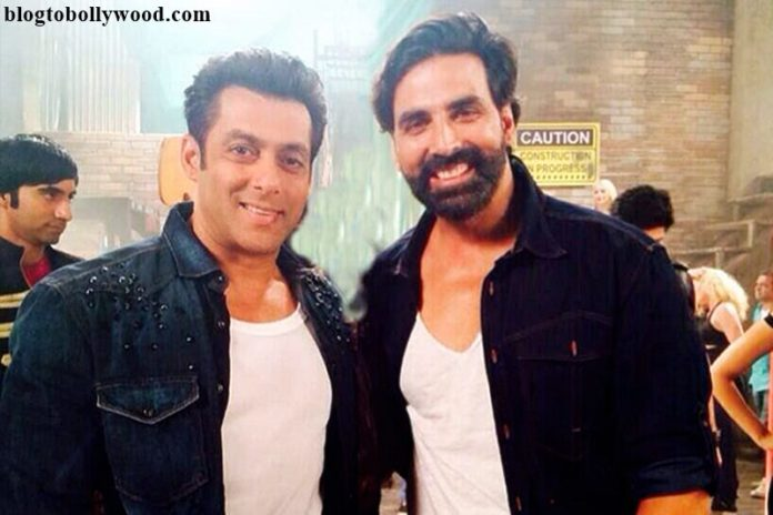 Salman Khan promotes Akshay Kumar's Rustom on Twitter