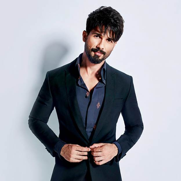 Shahid Kapoor at no. 10