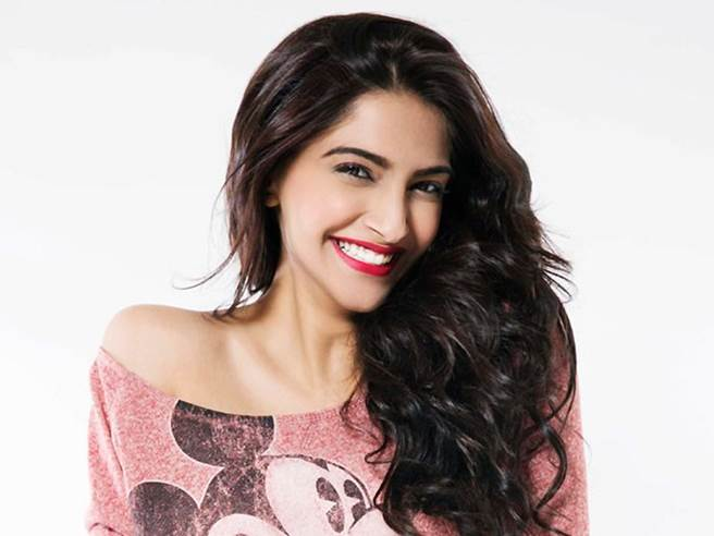 Sonam Kapoor at no. 9