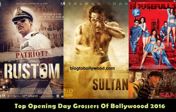 Rustom 4th, Mohejno Daro 9th In The List of Top Opening Day Grossers Of 2016