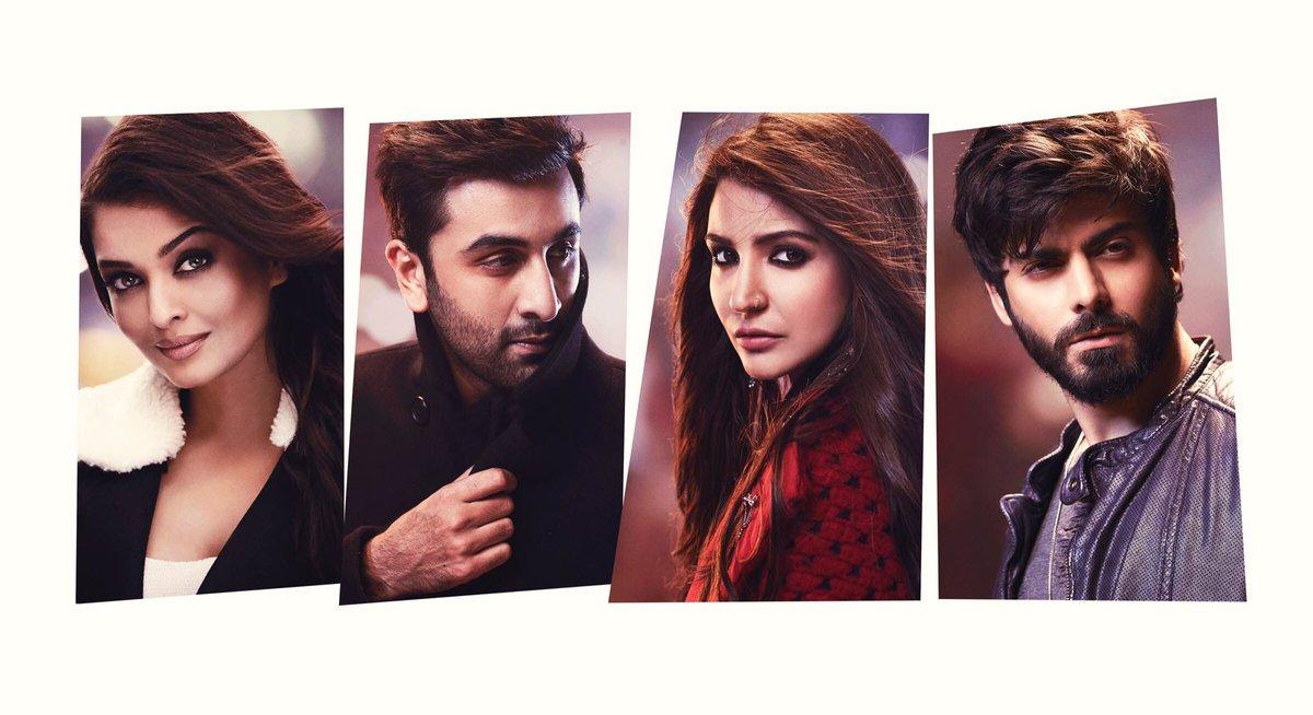 Ae DilHai Mushkil Star cast