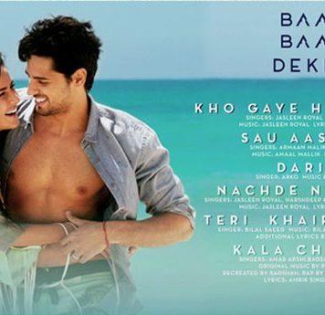 Baar Baar Dekho Full Music Album And Songs: Lovely Album