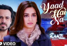 Yaad Hai Na Song From Raaz Reboot Remind