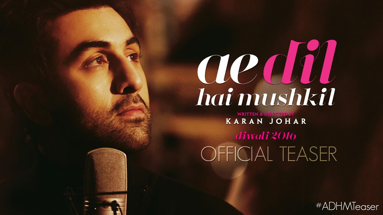 Ae Dil Hai Mushkil Teaser Out, Get Ready To Feel Love Like Never Before