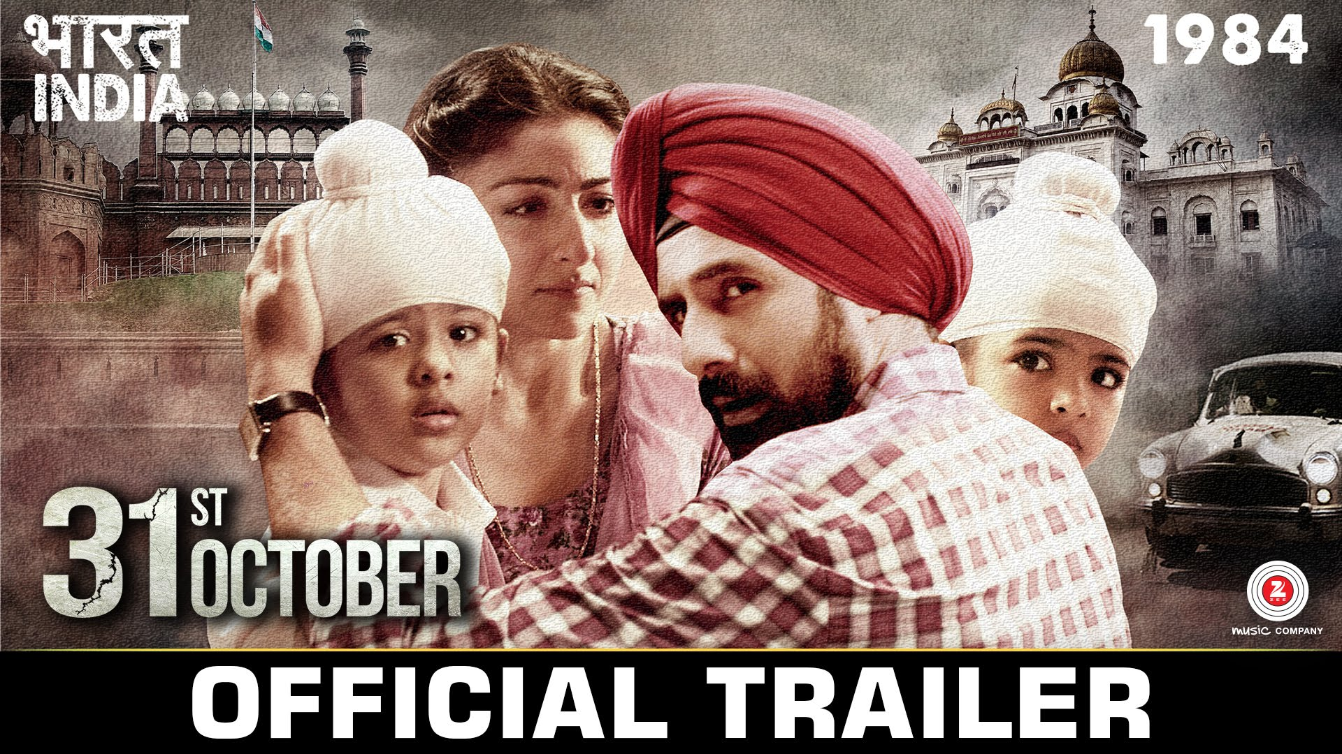 31st October Trailer Review- Based on Anti-Sikh Riots, it will make your blood curl!