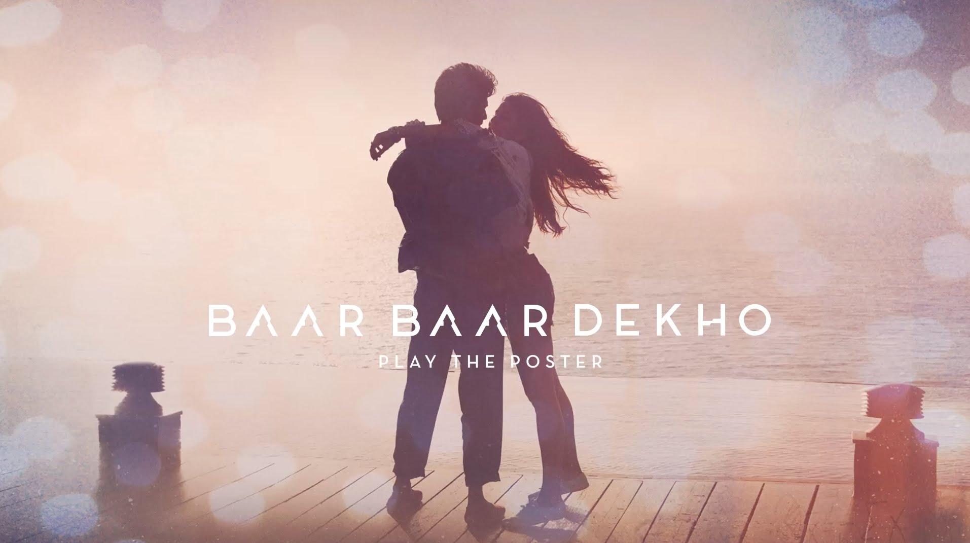 Baar Baar Dekho Motion Poster is quite interesting, trailer will be out tomorrow