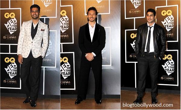 Vicky Kaushal, Tiger Shroff and Prateik Babbar