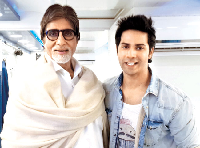 Amitabh Bachchan and Varun Dhawan to star together!