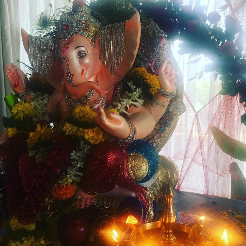 Pictures | Bollywood Celebs welcome Ganpati Bappa into their homes!- Arjun Rampal