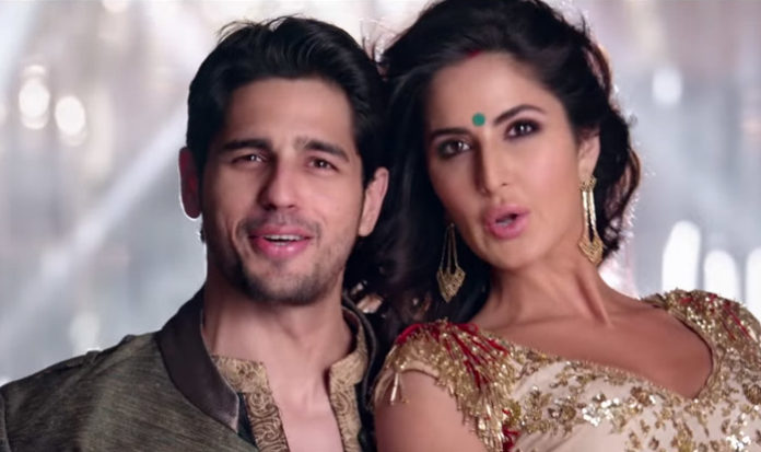 Kat and Sid in Baar Baar Dekho