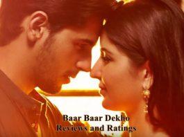 Baar Baar Dekho Review: Critic Reveiws and Ratings, Audience Reviews