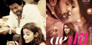 SRK-Alia's Dear Zindagi Trailer will be released with Ae Dil hai Mushkil