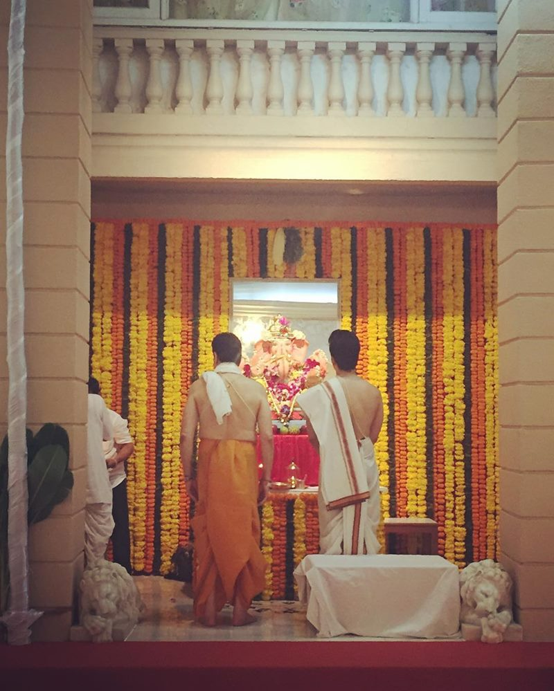 Pictures | Bollywood Celebs welcome Ganpati Bappa into their homes!- Ekta Kapoor