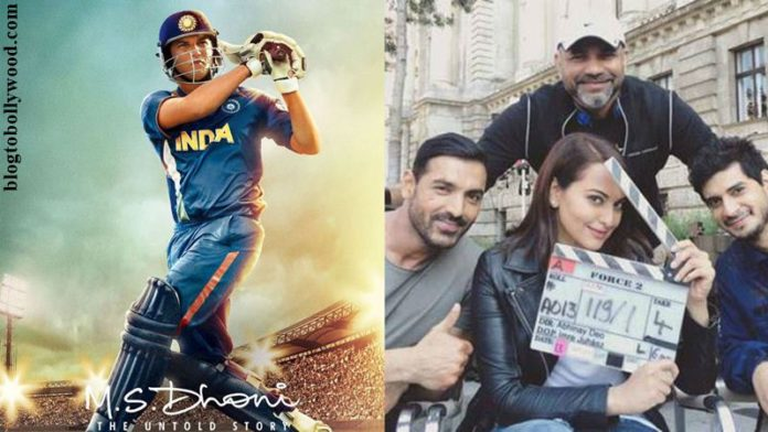 Force 2 Trailer will be released with M.S. Dhoni- The Untold Story!