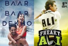 Baar Baar Dekho and Freaky Ali 2nd Weekend Collection
