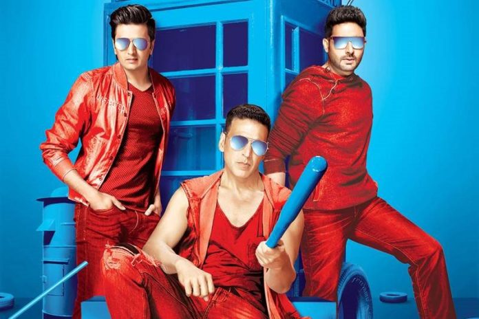 Here's some good news! Housefull 4 will go on floors in 2018