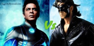 It's Hrithik Roshan Vs Shahrukh Khan Twice In 2017 and 2018