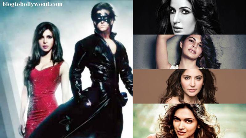 Priyanka, Deepika, Anushka, Katrina or Jacqueline? Who will be the leading lady in Krrish 4?