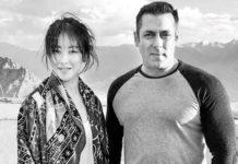Chinese Actress Zhu Zhu Wraps Up Tubelight, Bid Farewell To Salman Khan