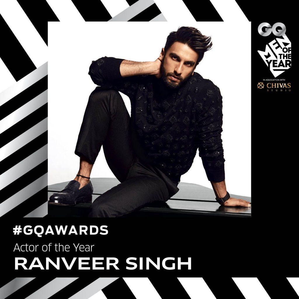 Ranveer Singh: Actor of the year