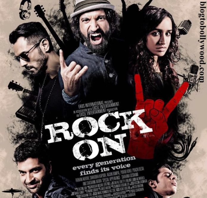 The first poster of Rock On 2 is here and we just can't wait for the trailer now!