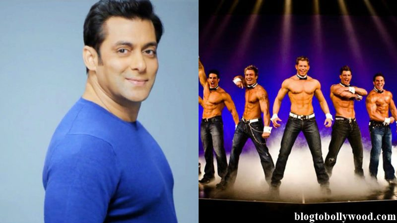 Salman Khan to make a movie highlighting male striptease artistes!