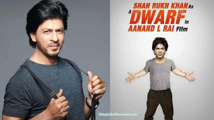 SRK will play a dwarf in Aanand L Rai's next