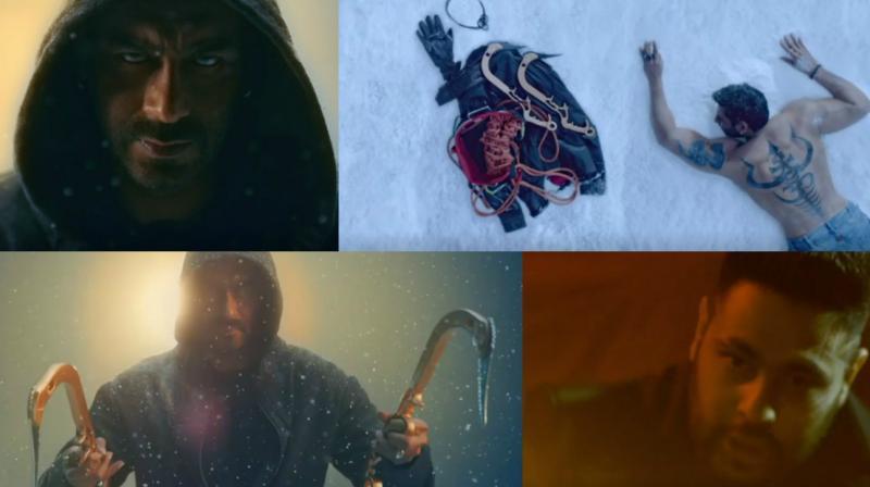 Shivaay title track pics