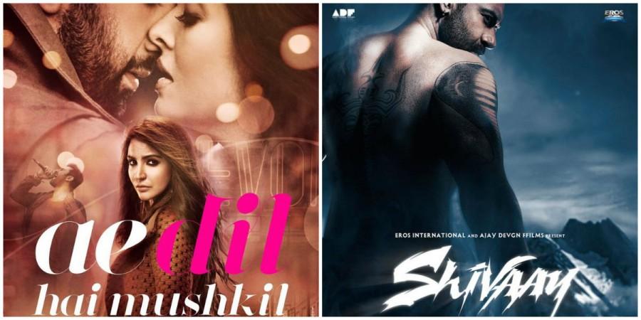 Shivaay Vs Ae Dil Hai Mushkil Screen Count: Shivaay Will Get More Screens Says Ajay Devgn