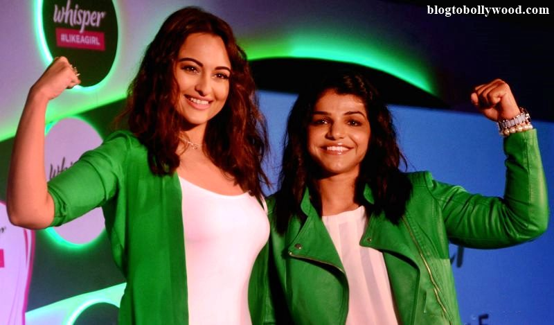 Sonakshi Sinha wants to do a biopic on wrestler Sakshi Malik!