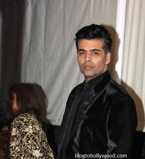 Karan at Ranbir's birthday bash