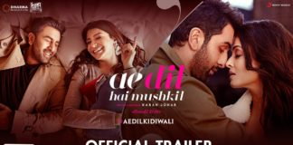 Ae Dil Hai Mushkil Trailer Review- Ranbir Kapoor steals the show, Aishwarya looks breathtaking!
