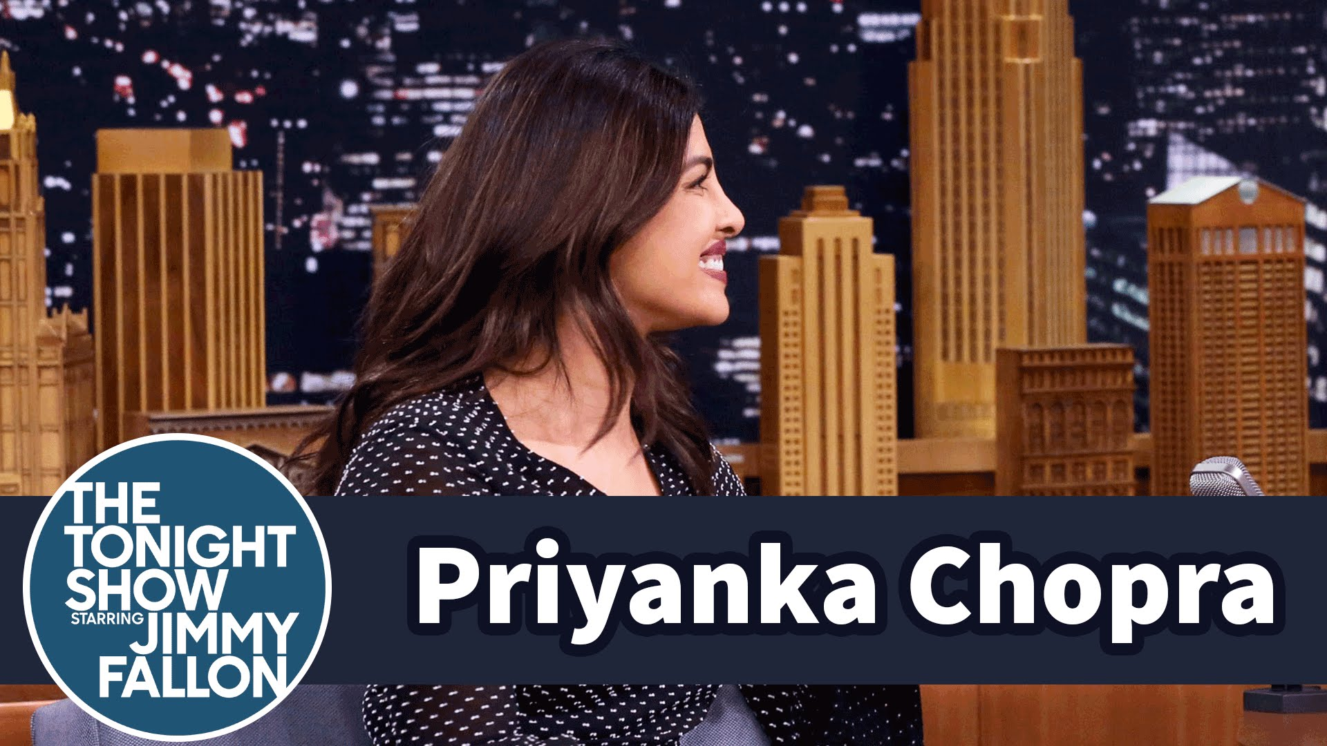 Priyanka Chopra on The Tonight Show starring Jimmy Fallon