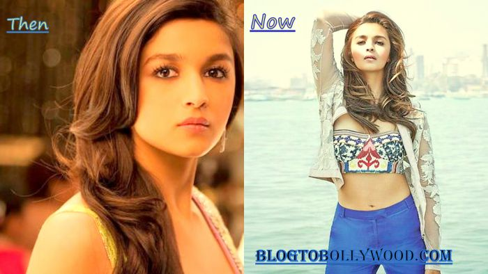 Alia Bhatt: Then & Now