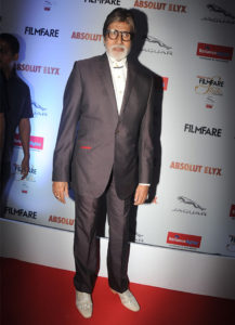 Amitabh Bachchan at Filmfare Glamour and Style Awards