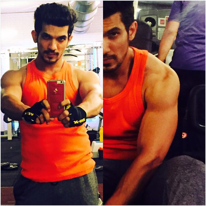 15 Hot Pics of Arjun Bijlani, one of the sexiest men of Indian Television- Arjun Gym 6