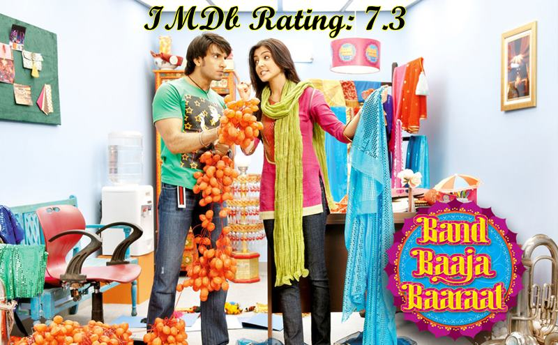 5 Best Anushka Sharma Movies based on IMDb Ratings- Band Baaja Baaraat