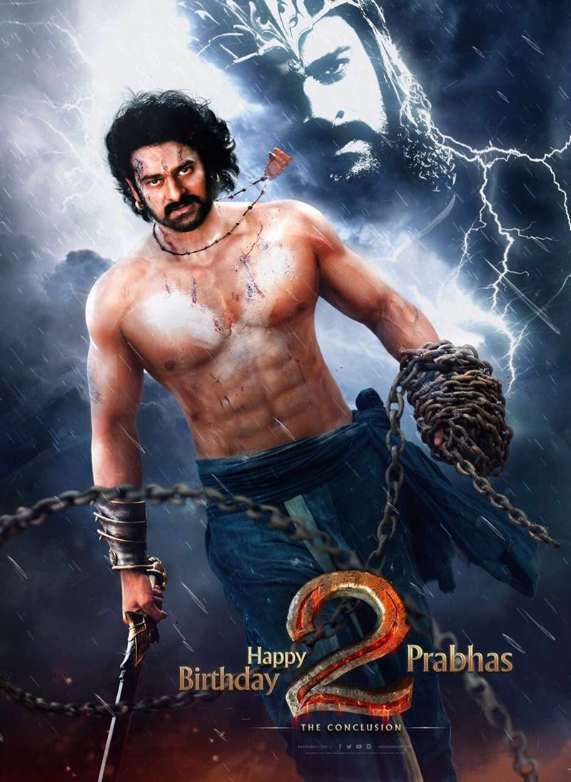 Baahubali 2 First Look is here, Mahendra Baahubali looks majestic!