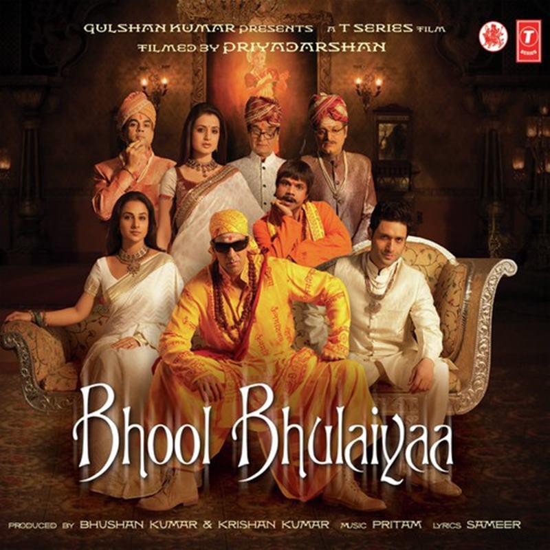 Top 10 Bollywood Movies based on South Indian Movies- Bhool Bhulaiyaa